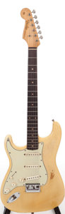 Musical Instruments:Electric Guitars, 1959 Fender Stratocaster Blonde Hardtail Left Handed Solid Body Electric Guitar, Serial # 51672....