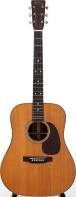1946 Martin D-28 Natural Acoustic Guitar, Serial # 95293