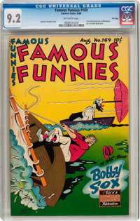Famous Funnies #169 File Copy (Eastern Color, 1948) CGC NM- 9.2 Off-white pages