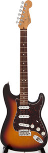 Musical Instruments:Electric Guitars, 1997 Fender Roadhouse Stratocaster Sunburst Solid Body ElectricGuitar, Serial # N7295810....