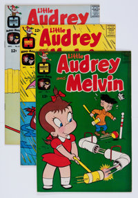 Little Audrey and Melvin File Copies Box Lot (Harvey, 1962-73) Condition: Average NM-