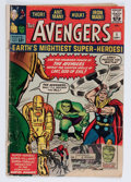 Silver Age (1956-1969):Superhero, The Avengers #1 (Marvel, 1963) Condition: FR....