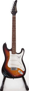 Musical Instruments:Electric Guitars, 1980s Samick Model LS-11/SB Sunburst Solid Body Electric Guitar....