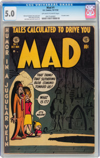 Mad #1 (EC, 1952) CGC VG/FN 5.0 Off-white to white pages