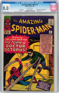 Silver Age (1956-1969):Superhero, The Amazing Spider-Man #11 (Marvel, 1964) CGC VF 8.0 Off-white pages....