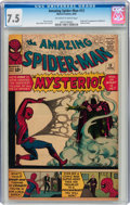 Silver Age (1956-1969):Superhero, The Amazing Spider-Man #13 (Marvel, 1964) CGC VF- 7.5 Off-white to white pages....