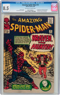 Silver Age (1956-1969):Superhero, The Amazing Spider-Man #15 (Marvel, 1964) CGC VF+ 8.5 Off-white to white pages....