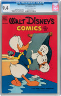 Golden Age (1938-1955):Cartoon Character, Walt Disney's Comics and Stories #146 (Dell, 1952) CGC NM 9.4 Off-white to white pages....