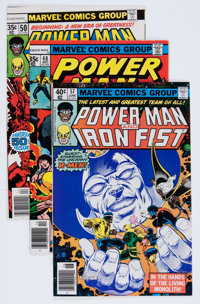 Power Man and Iron Fist Group (Marvel, 1978-86) Condition: Average NM-.... (Total: 60 Comic Books)