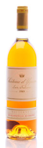 White Bordeaux, Chateau d'Yquem 1989 . Sauternes. lbsl. Bottle (1). ...(Total: 1 Btl. )