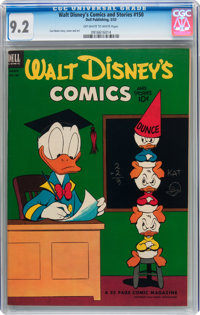 Walt Disney's Comics and Stories #150 (Dell, 1953) CGC NM- 9.2 Off-white to white pages