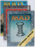 Magazines:Mad, Mad Group (EC, 1956-59) Condition: Average VG.... (Total: 9 Comic Books)