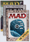 Magazines:Mad, Mad Group (EC, 1955-58) Condition: Average FN-.... (Total: 8 Comic Books)