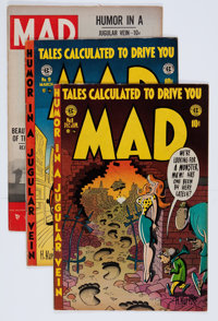 Mad Group (EC, 1953-54) Condition: Average FN+.... (Total: 4 Comic Books)