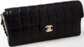 Luxury Accessories:Bags, Heritage Vintage: Chanel Black Quilted Lambskin Leather Single FlapBag with Silver Hardware. ...