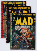 Golden Age (1938-1955):Humor, Mad Group (EC, 1953-59) Condition: Average GD.... (Total: 16 Comic Books)