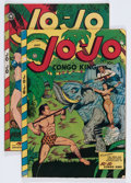 Golden Age (1938-1955):Funny Animal, Jo-Jo Comics Group (Fox Features Syndicate, 1947) Condition:Average VG.... (Total: 2 Comic Books)