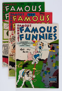 Famous Funnies Group (Eastern Color, 1946-49) Condition: Average VG+.... (Total: 7 Comic Books)