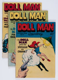Golden Age (1938-1955):Superhero, Doll Man Quarterly/Feature Comics Group (Quality, 1946-48) Condition: Average VG+.... (Total: 9 Comic Books)