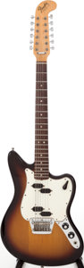 Musical Instruments:Electric Guitars, 1965 Fender Electric XII Sunburst Solid Body Electric Guitar,#253230....