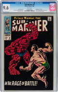 Silver Age (1956-1969):Superhero, The Sub-Mariner #8 (Marvel, 1968) CGC NM+ 9.6 White pages....