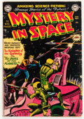 Golden Age (1938-1955):Science Fiction, Mystery in Space #3 (DC, 1951) Condition: GD+....
