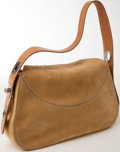 Luxury Accessories:Bags, Heritage Vintage: Tod's Camel Suede and Leather Pochette. ...