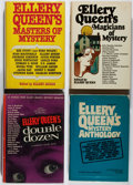 Books:Mystery & Detective Fiction, Ellery Queen. Group of Four First Editions. Various, 1964-1976.Very good.... (Total: 4 Items)