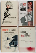Books:Mystery & Detective Fiction, Thomas B. Dewey. Group of Four British First Edition Books.Boardman, 1962-1966. Very good.... (Total: 4 Items)