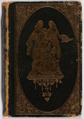 Books:Literature Pre-1900, William Shakespeare. Poems. Locken, 1847. Later edition.Sixteenmo. Publisher's leather with rubbing and scuffin...