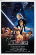 "Movie Posters:Science Fiction, Return of the Jedi (20th Century Fox, 1983). One Sheet (27"" X 41"")Style B Flat Folded. Science Fiction.. ..."
