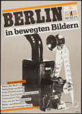 """Movie Posters:Documentary, Berlin in Moving Pictures (1987). Film Festival German A1 (22.5"""" X 32""""). Miscellaneous.. ..."""