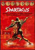"Movie Posters:Action, Spartacus (Universal, R-1974). German A1 (23"" X 33""). Action.. ..."