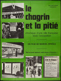 "Movie Posters:Documentary, The Sorrow and the Pity (Nef-Diffusion, 1972). French Grande (45.5"" X 61""). Documentary.. ..."