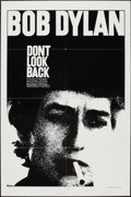 "Movie Posters:Rock and Roll, Don't Look Back (Leacock-Pennebaker, R-1983). One Sheet (27"" X41""). Rock and Roll.. ..."