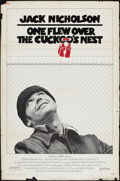 """Movie Posters:Academy Award Winners, One Flew Over the Cuckoo's Nest (United Artists, 1975). One Sheet(27"""" X 41""""). Academy Award Winners.. ..."""