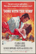 "Movie Posters:Academy Award Winners, Gone with the Wind (MGM, R-1974). One Sheet (27"" X 41"") FlatFolded. Academy Award Winners.. ..."