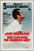 "Movie Posters:Academy Award Winners, One Flew Over the Cuckoo's Nest (United Artists, 1975).International One Sheet (27"" X 41"") Flat Folded. Academy AwardWinne..."
