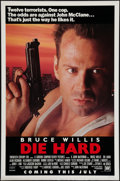 "Movie Posters:Action, Die Hard (20th Century Fox, 1988). One Sheet (27"" X 41"") Advance.Action.. ..."