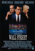 "Movie Posters:Crime, Wall Street (20th Century Fox, 1987). One Sheet (27"" X 40"").Crime.. ..."