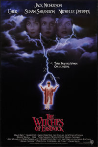 """The Witches of Eastwick (Warner Brothers, 1987). One Sheet (27"""" X 40.5"""") Advance. Drama"""