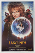 "Movie Posters:Fantasy, Labyrinth (Tri-Star, 1986). One Sheet (27"" X 41"") SS Advance.Fantasy.. ..."