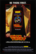"Movie Posters:Action, Dick Tracy (Buena Vista, 1990). One Sheet (27"" X 40"") DS, T-Shirt Style Advance. Action.. ..."