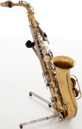 Musical Instruments:Horns & Wind Instruments, Selmer Bundy Brass Alto Saxophone, Serial # 525819....