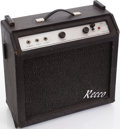 Musical Instruments:Amplifiers, PA, & Effects, 1960s Recco Custom 800 Black Guitar Amplifier. ...