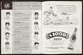 Baseball Collectibles:Publications, 1958 World Series Signed Program w/Mantle and Stengel. ...
