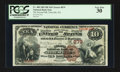 National Bank Notes:Pennsylvania, Titusville, PA - $10 1882 Brown Back Fr. 480 The Second NB Ch. #879. ...