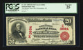 National Bank Notes:Pennsylvania, Philadelphia, PA - $20 1902 Red Seal Fr. 641 The Market Street NBCh. # (E)3684. ...