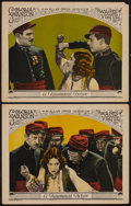 """Movie Posters:Romance, Wages of Virtue (Paramount, 1924). Lobby Cards (2) (11"""" X 14""""). Romance.. ... (Total: 2 Items)"""