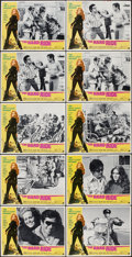 """Movie Posters:Exploitation, The Hard Ride (American International, 1971). Lobby Card Set of 8 and Lobby Cards (2) (11"""" X 14""""). Exploitation.. ... (Total: 10 Items)"""